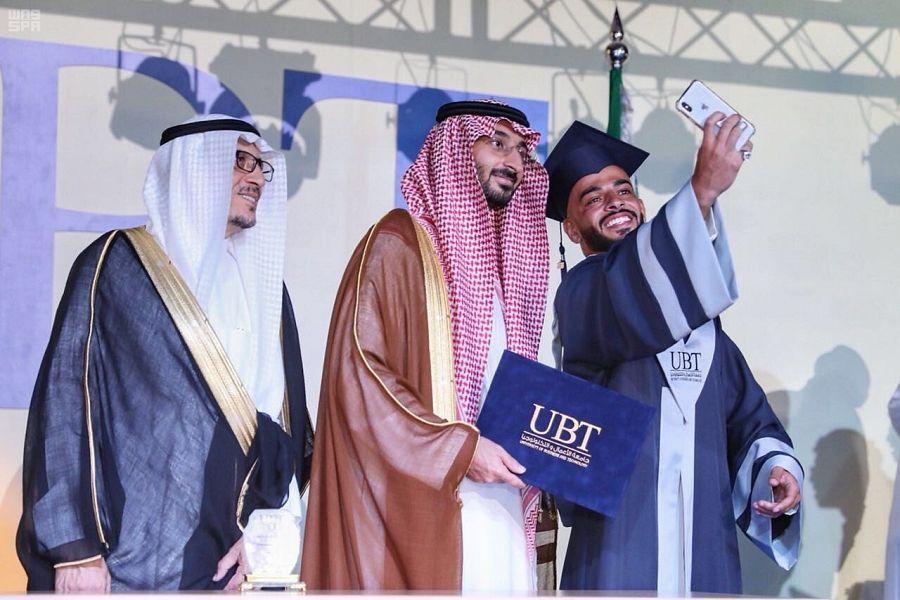 نائب أمير منطقة مكة المكرمة يرعى حفل تخريج طلاب جامعة الأعمال والتكنولوجيا بجدة صحيفة وطني الحبيب الإلكترونية Academic Dress Dresses Fashion