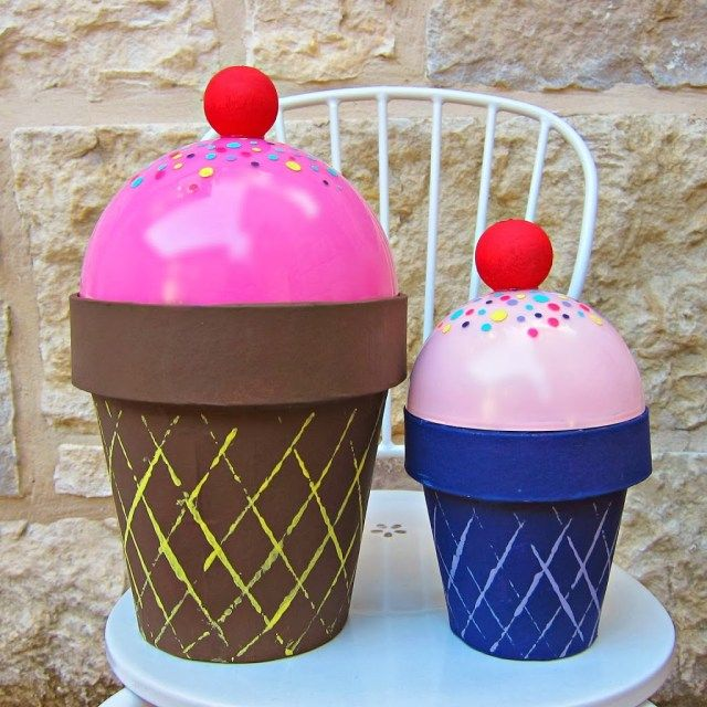 Photo of Valentine Gift Holder Ice Cream Cone – Morena's Corner