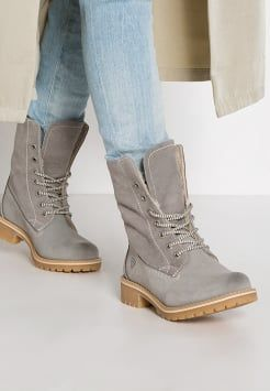 size 40 c1e24 308dc Tamaris - Snowboot / Winterstiefel - grey | Shoes in 2019 ...