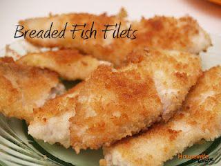 Breaded Fish Filets