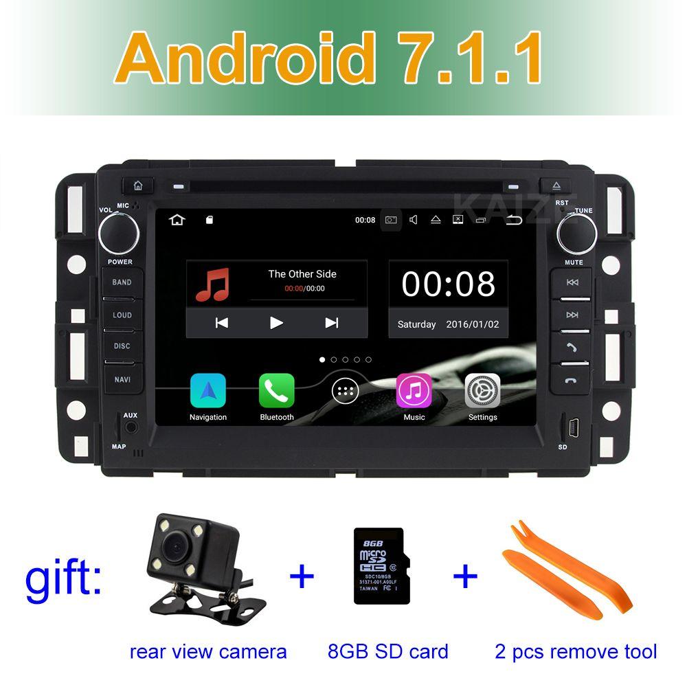 2gb Ram Android 7 1 1 Car Dvd Player Gps For Buick Enclave Gmc Yukon Savana Chevrolet Equinox Express Avalanche Wifi Bt Radio Car Dvd Players Radio Car