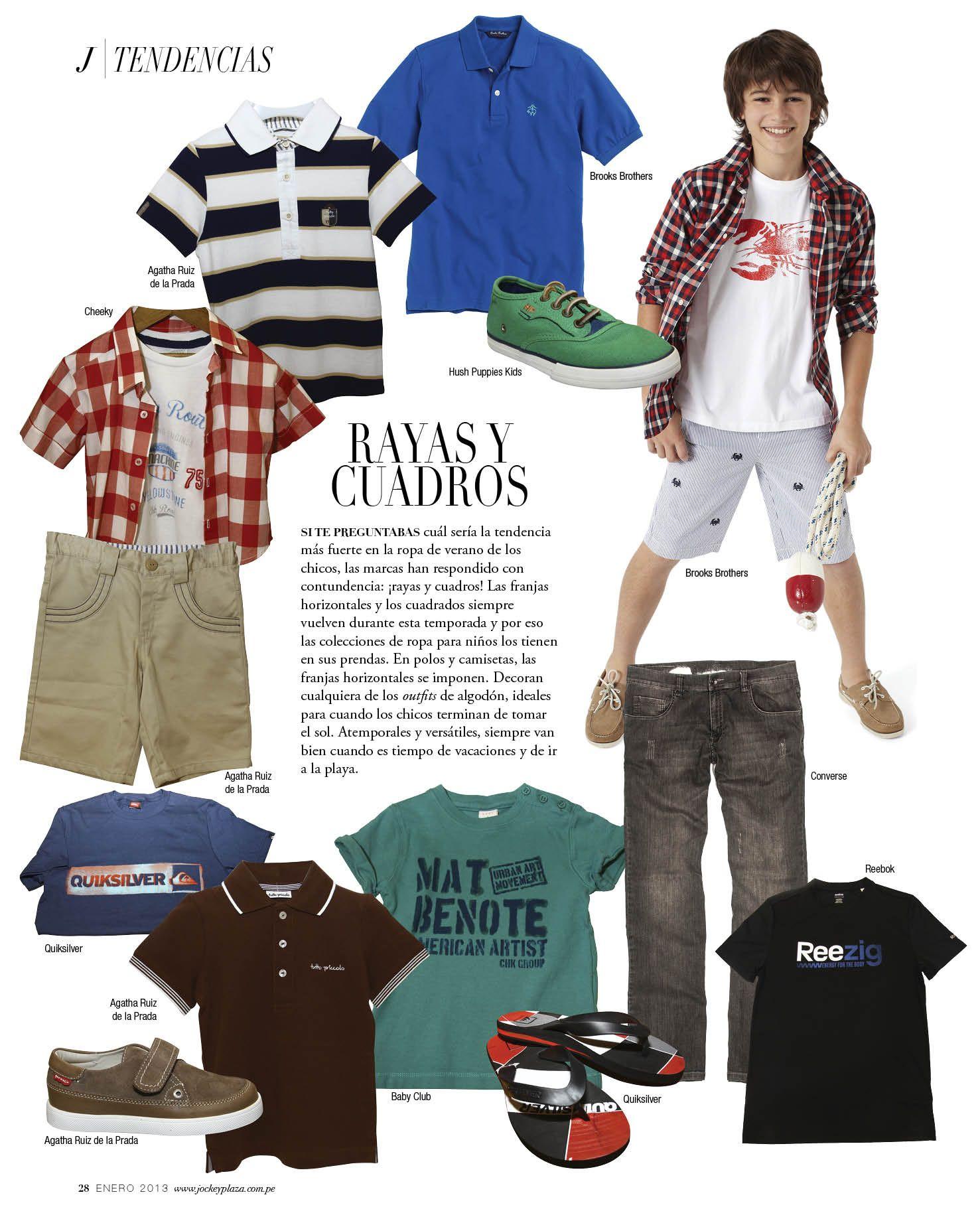 Rayas y Cuadros - Revista J #kids  #summer  #loveit #fashionnews #fashiontips #shopping