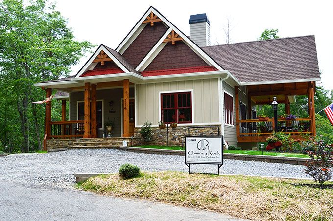 Lake wedowee creek retreat house plan lake house plans for Rustic craftsman house plans