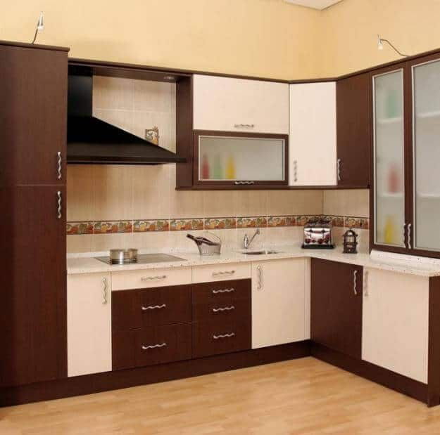 Simple Kitchen Cabinet Designs (625×619) | Kuzhina | Pinterest | Simple Kitchen  Design, Kitchen Design And Smallest House