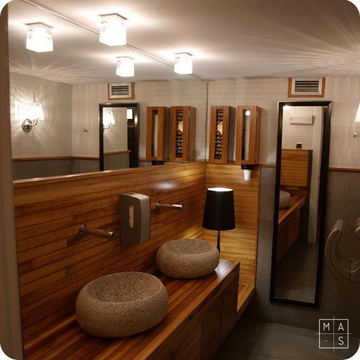 Rustico moderno ba o buscar con google decoracion - Decoracion de restaurantes rusticos ...