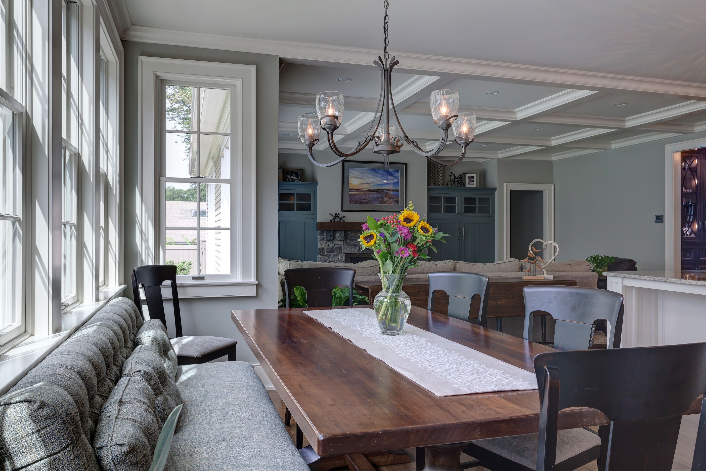 Home Home, Traditional house, Rustic dining table