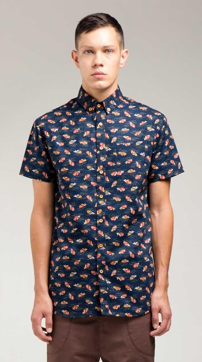 cfd0c62e Saki Shirt   I Love Ugly   Cloths in 2019   Shirts, Printed shirts, Men