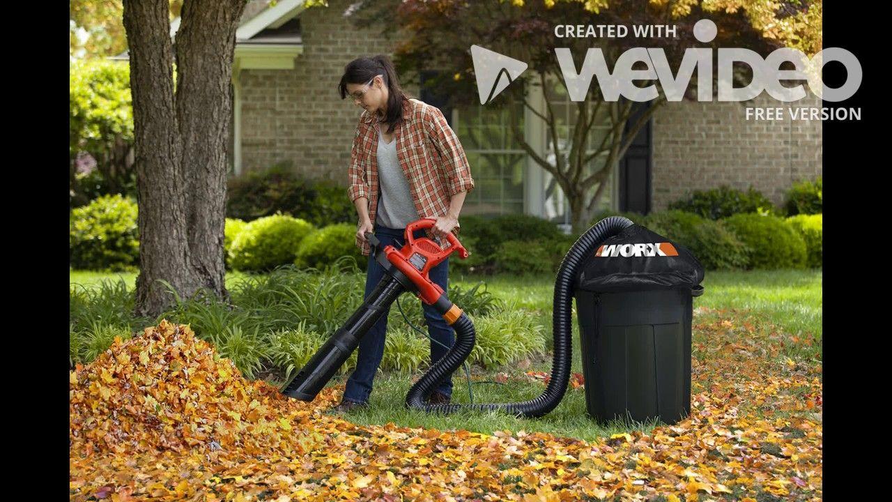 Worx Wg505 Electric Trivac Blower Mulcher Vacuum Garden