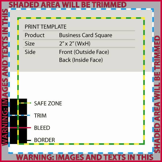 Business cards business card template 2 x 2 square also available in rounded corners reheart Image collections