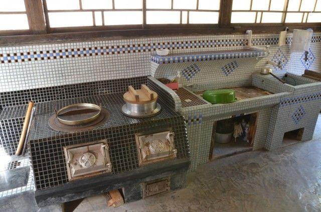 カンパイ 広島県 古民家 リノベーション キッチンデザイン キッチンダイニングルーム