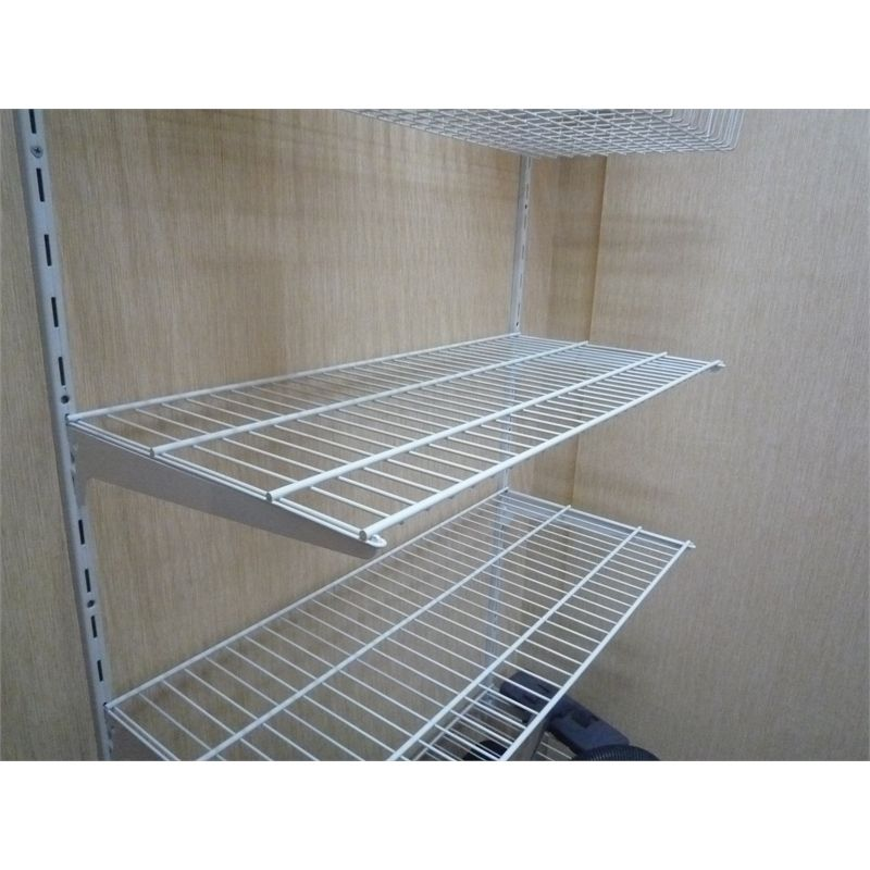 Rubbermaid Freeslide 8 Ft X 12 In White Wire Shelf 3d1300wht