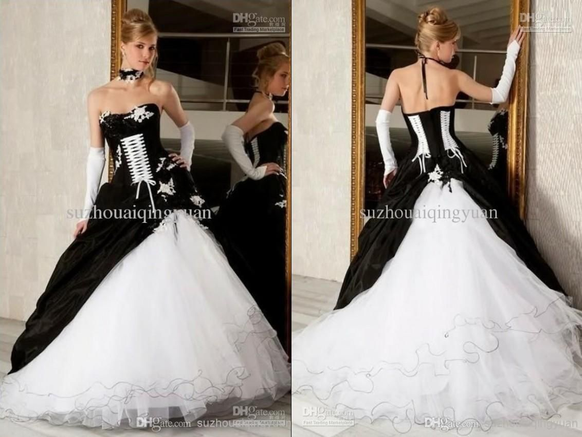 Dhgate wedding dresses plus size  Inspirational Black Wedding Dresses Plus Size Check more at