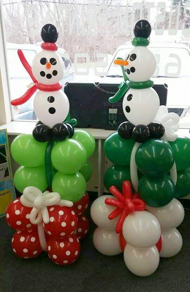 Christmas Balloon Art | Christmas balloons