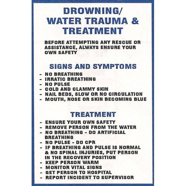 Drowning first aid response essay