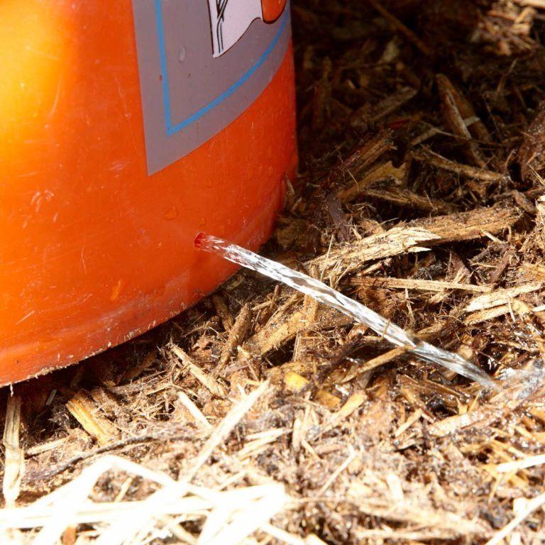 5gallon bucket hack better tree watering 5 gallon