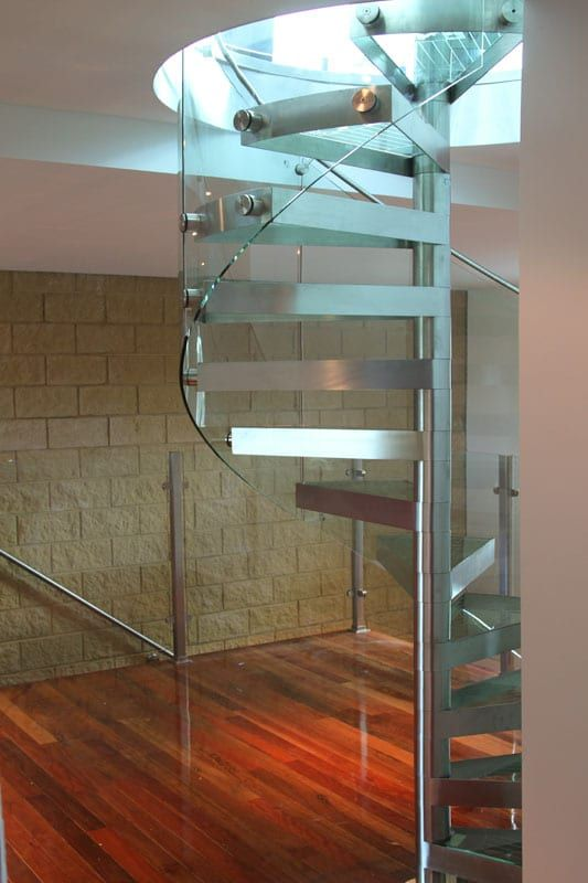 Best Glass Spiral Staircase Staircase Railing Design Glass 640 x 480
