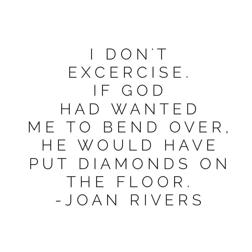 Diamond Quotes Joan Rivers Quotes Diamonds Quote Love Diamonds Excercise