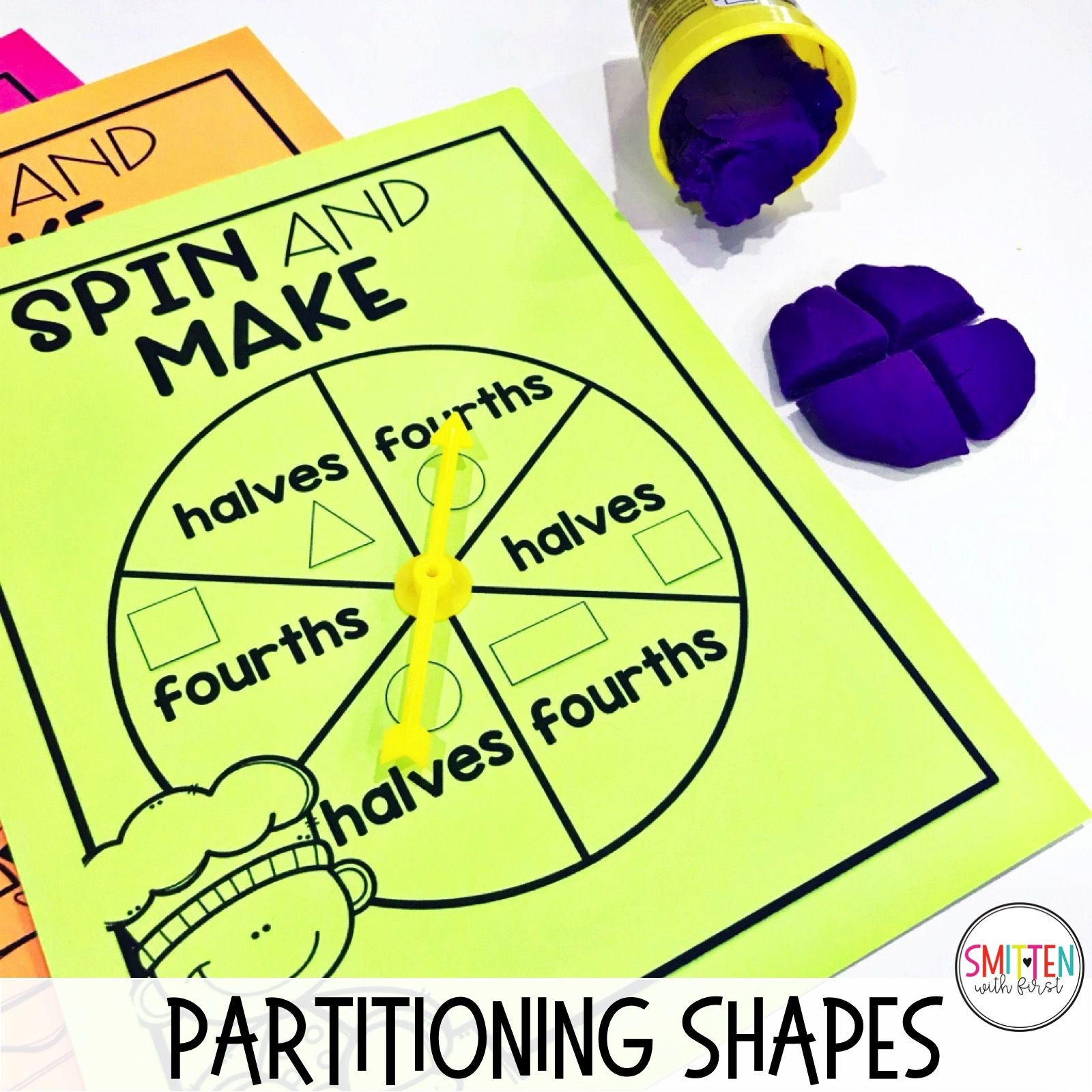 Fraction Activities Games And Read Alouds For 1st And