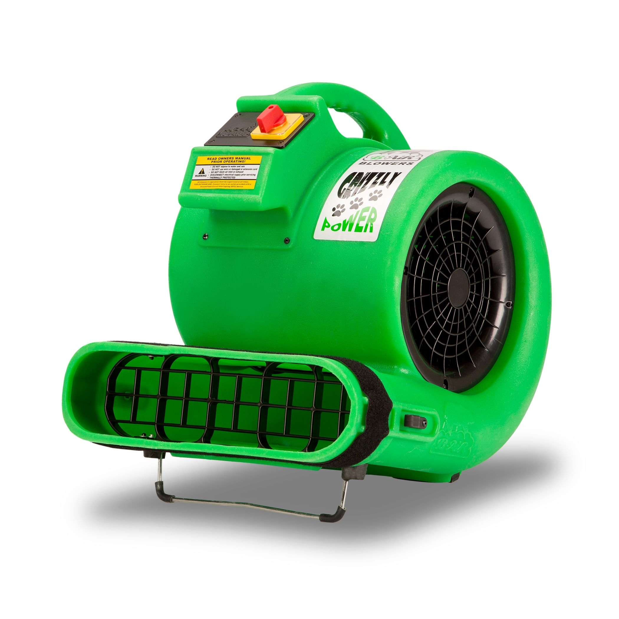 B Air Grizzly Gp 1 1 Hp 3550 Cfm Air Mover Carpet Dryer Floor Fan