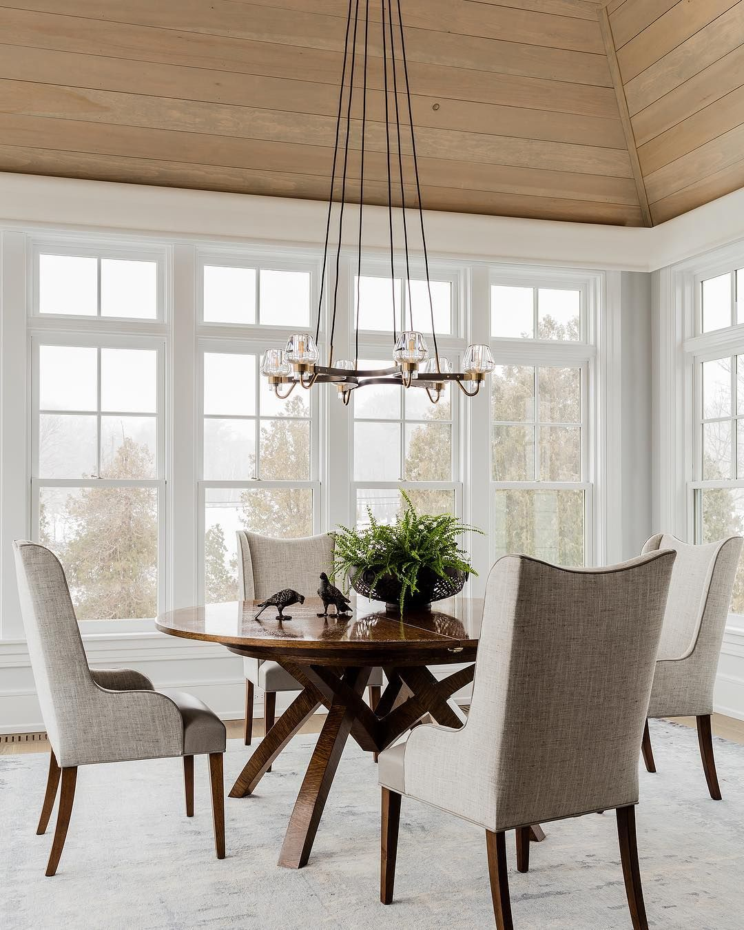 Modern Farmhouse Dining Area Light And Bright Kitchen Board House Floor Plans