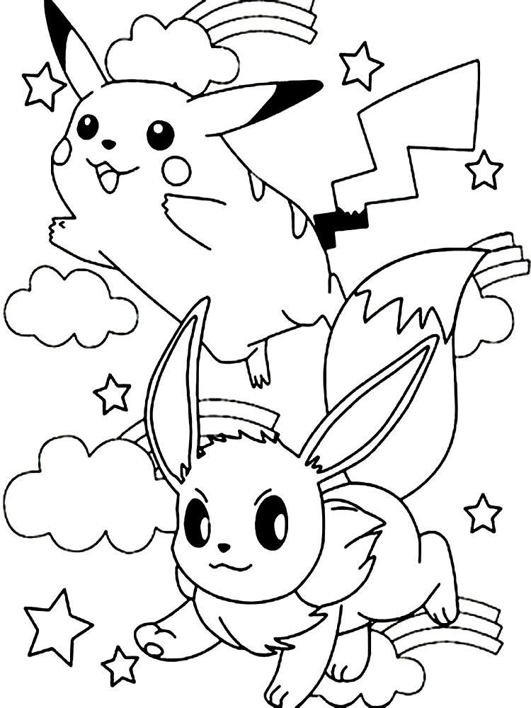 Dibujos animados para colorear   Pokemon, para niños pequeños | jg
