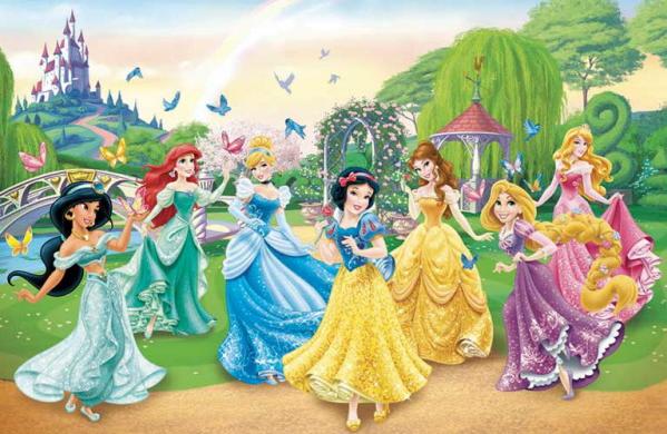 DISNEY PRINCESSES POSTER Amazing Princess Group RARE HOT NEW 22x34
