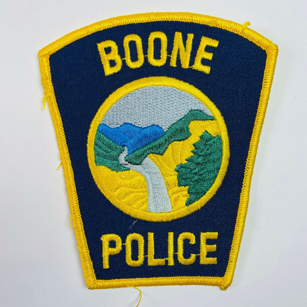 Boone Police Watauga County North Carolina Patch (B