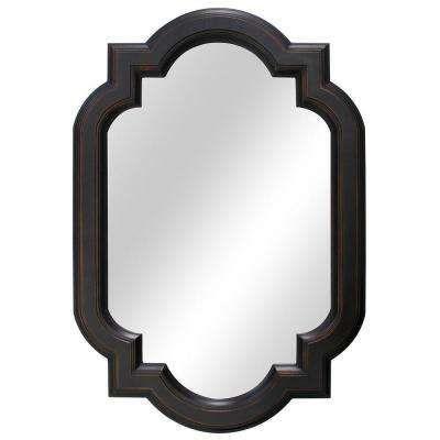 22 In W X 32 In L Framed Fog Free Wall Mirror In Oil Rubbed Bronze