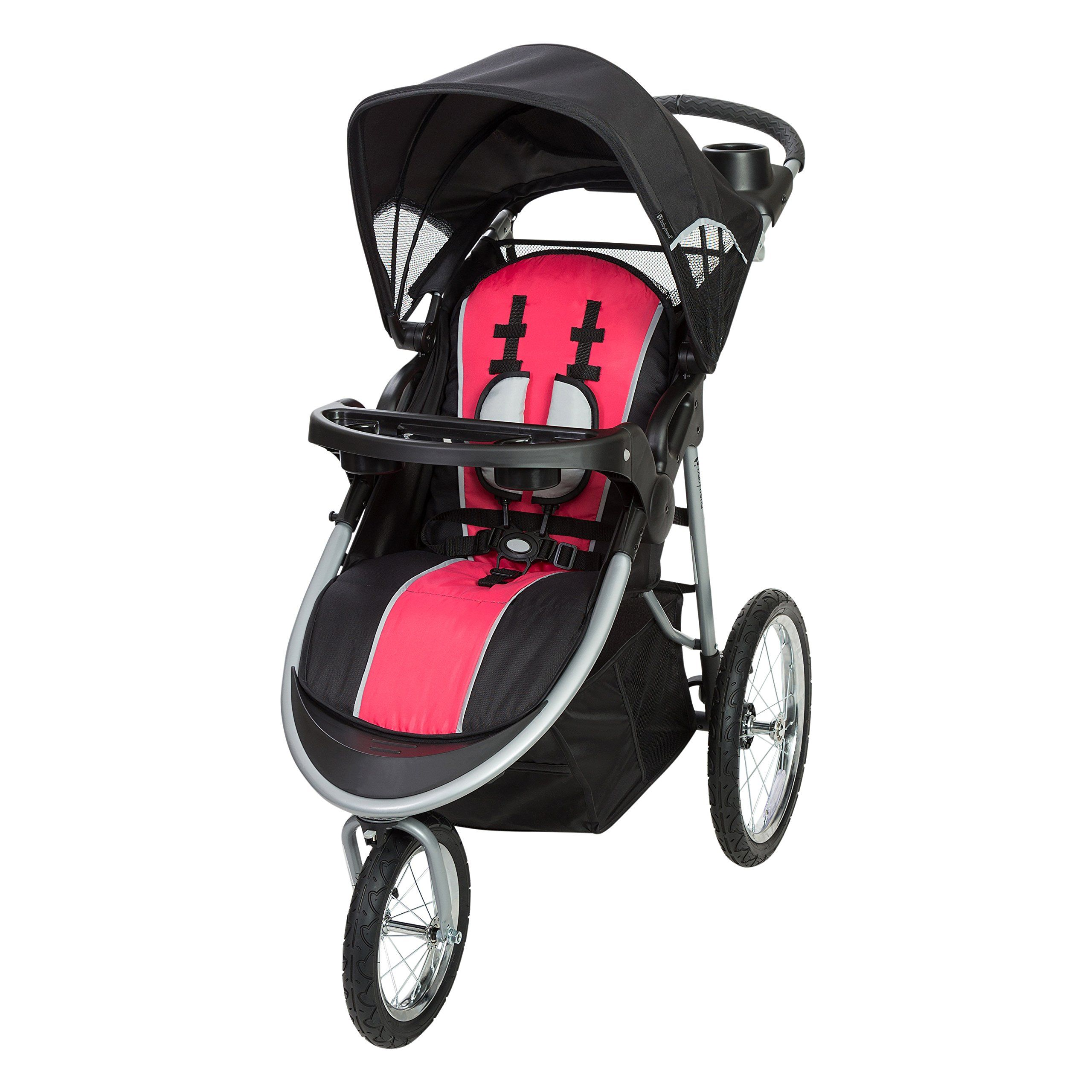 Baby Trend Pathway 35 Jogger Stroller Optic Pink * Click