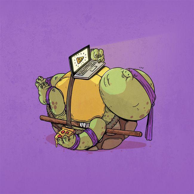 Chunky Donatello