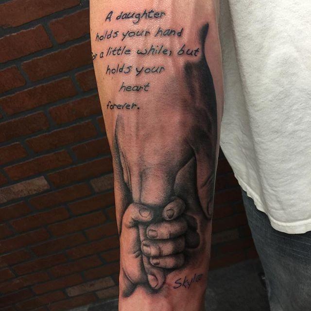 Fotos De Tatuagem De Pai E Filha: Tatuagens De Família: Veja As 85 Melhores Fotos E