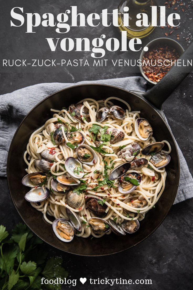 Photo of Spaghetti alle vongole – delicious recipe for pasta with clams