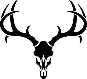 185492078380241114 on free deer head silhouette stencil