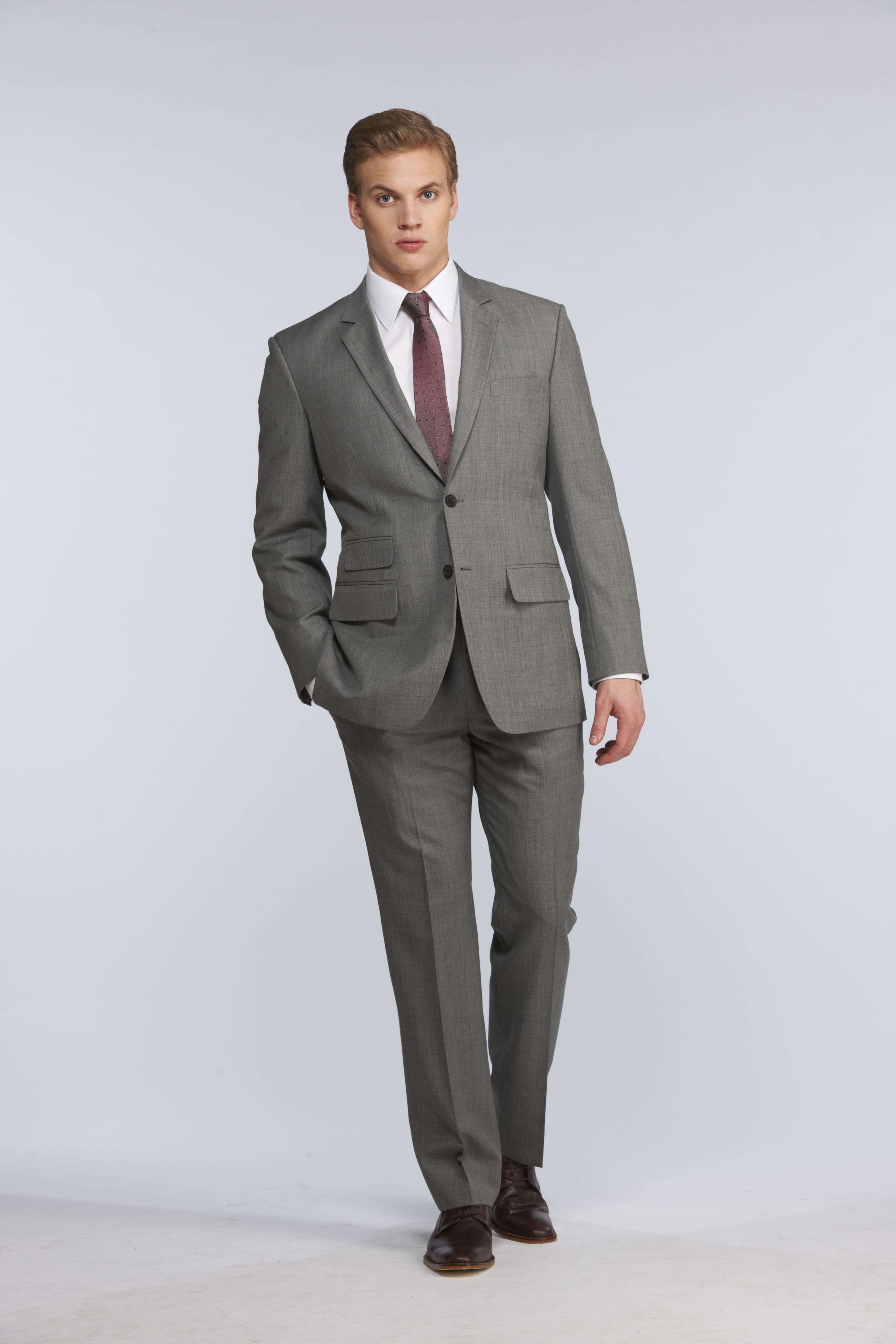 gray light suit en inc fit suits regular