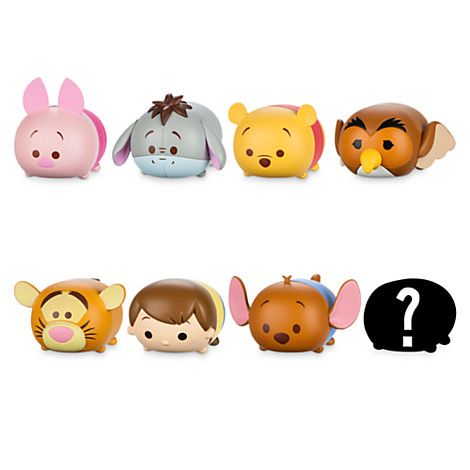 winnie the pooh 39 39 tsum tsum 39 39 series 1 vinyl figure mini. Black Bedroom Furniture Sets. Home Design Ideas