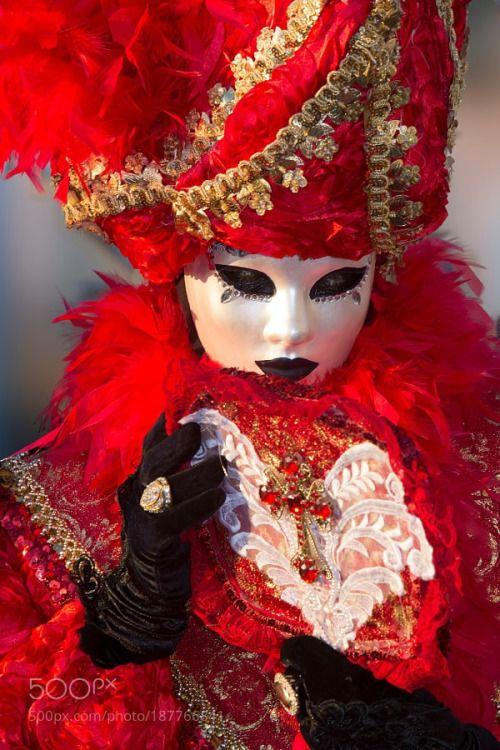 Venice-Carnival - #117 by steve-lange  italy venice carnival masks colorful costumes steve-lange