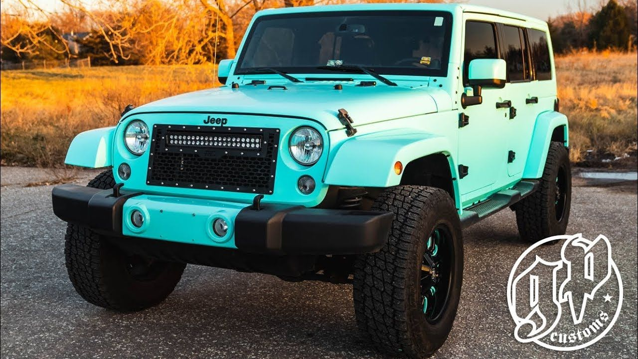 Pin By Maria Ben On Cars Aeroplanes In 2020 Blue Jeep Custom Jeep Wrangler Blue Jeep Wrangler