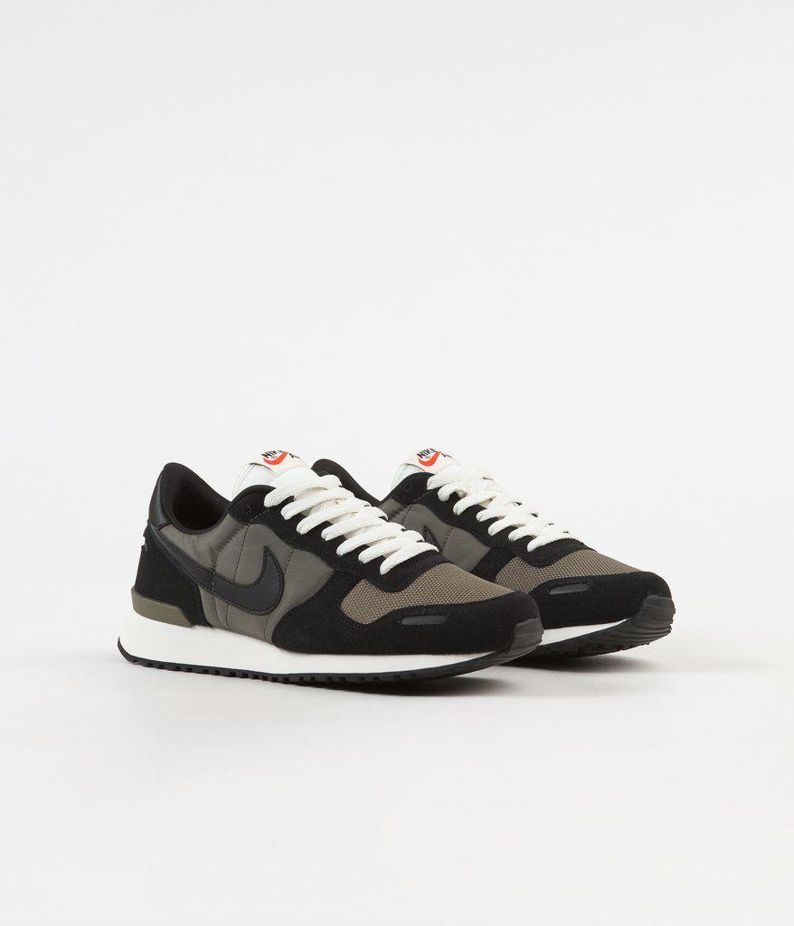 Nike Air Vortex Shoes - Black   Black - Medium Olive - Sail  a483277e7