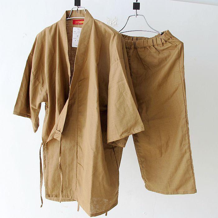9e7ba8eb8f Summer short sleeve pyjamas set men s simple Japanese kimono pajama Cotton  Yukata Sleepwear Robe and Pants 62804-in Pajama Sets from Men s Clothing ...