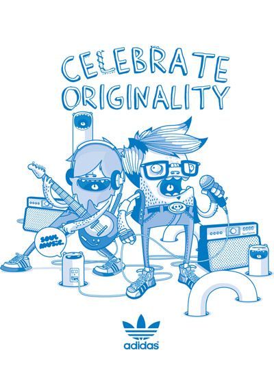 dad4b07a1a43 Celebrate Originality - adidas - Julian Ardila