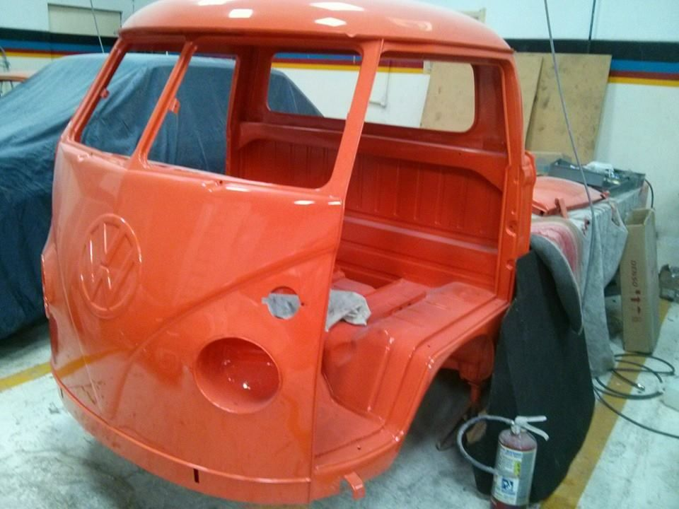 T1 VW Bus single cab pickup Restoration