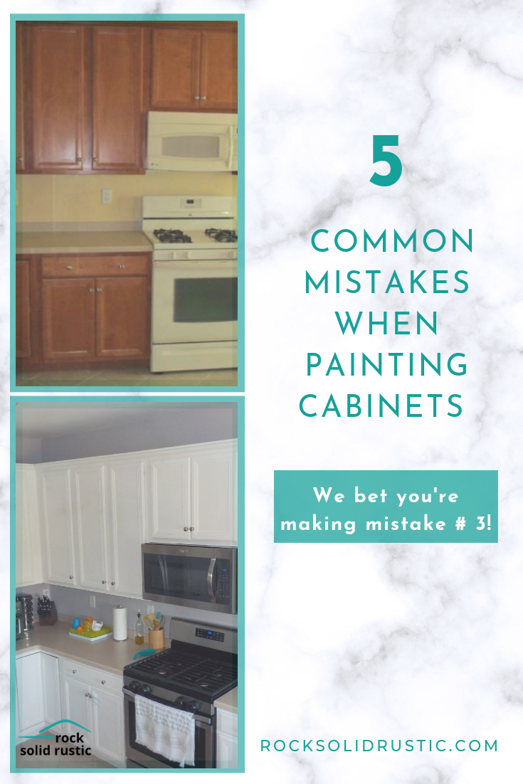 How to paint builder grade kitchen cabinets the right way ...