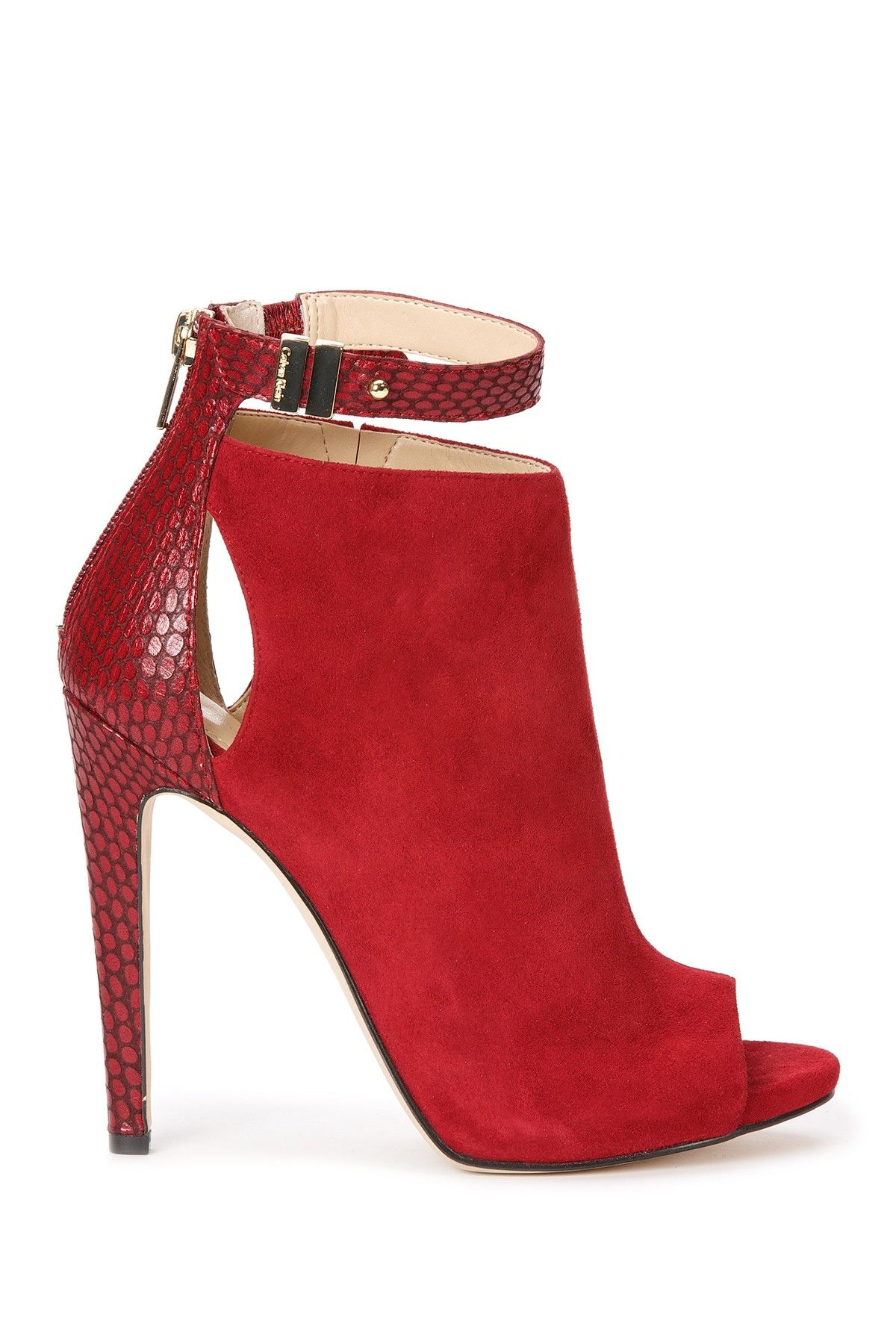 a2627f07336 Calvin Klein | Calvin Klein Saya Open Toe Shoe | Nordstrom Rack ...