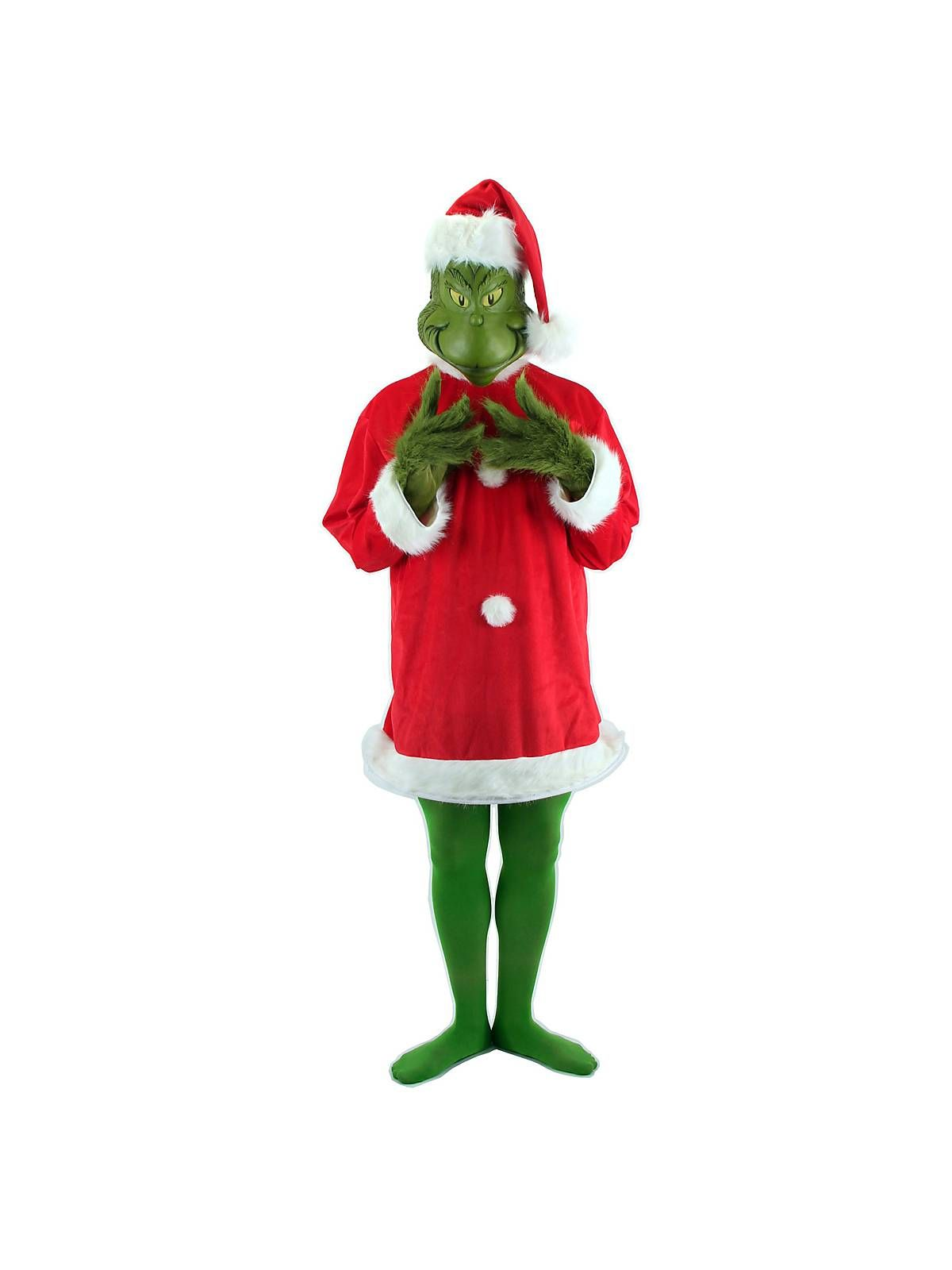 How to make your own grinch costume - The Grinch Santa Costume With Mask