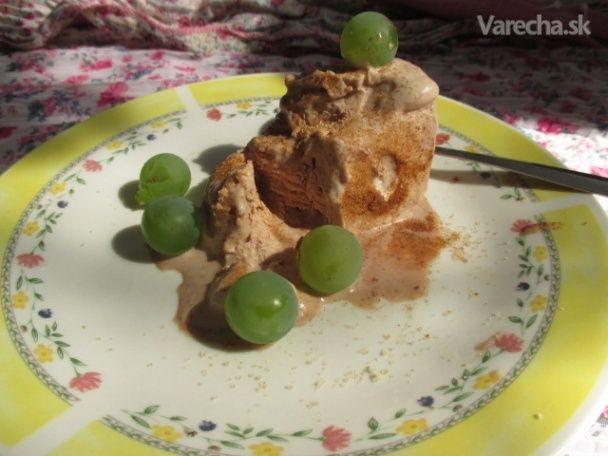 Mätovo-medovková čokoládová zmrzlina s orechami (fotorecept) - Recept