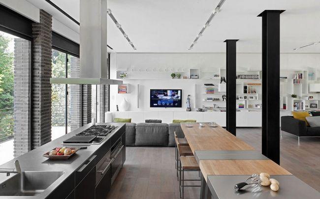 Décoration d\'intérieur d\'une maison contemporaine ...