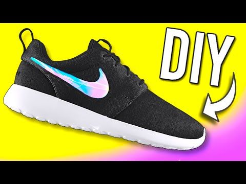 DIY Holographic Shoes! DIY ideas you NEED to try!!
