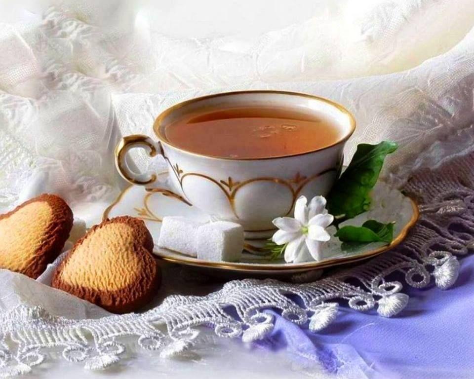 открытки с чаем и кофе тех пор