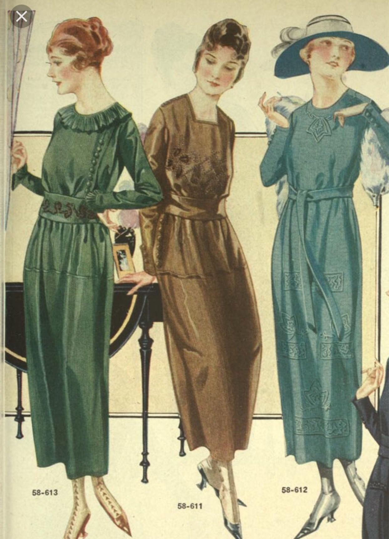 Ladies This Is Almost Close To Our Color Scheme We Are Going To Be Pretty Authentic 1920s Fashion 1920s Fashion Women Womens Fashion Casual [ 1722 x 1242 Pixel ]