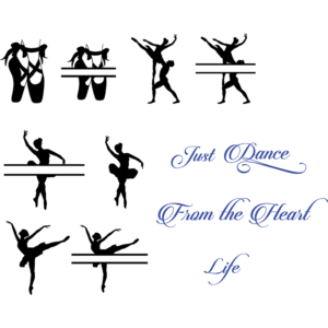 SVG plotter template Prima Ballerina